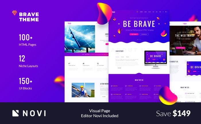 eme - Multipurpose HTML Website Template