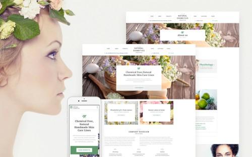 Cosmetics Website Template