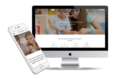 Fine Babysitter - Nanny Services Responsive Multipage Website Template