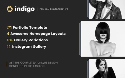 Fashion Lookbook Website Template