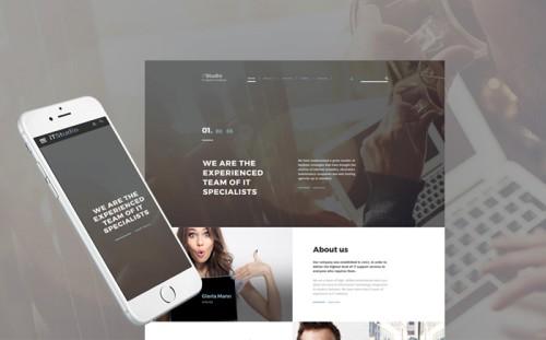 iTStudio - IT Support Company Responsive Website Template