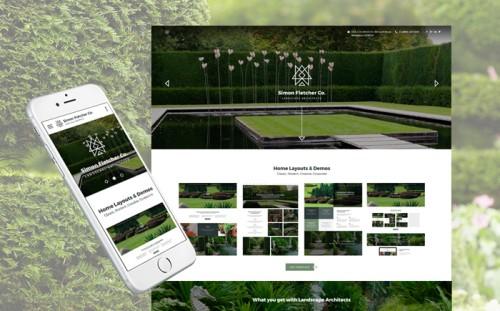 Landscape Architects Website Template