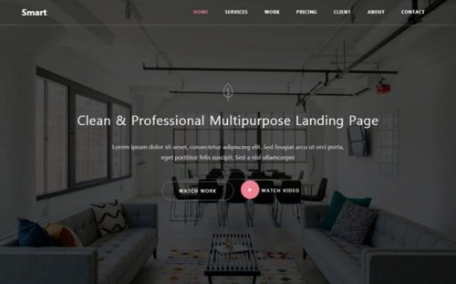 Smart - Responsive Bootstrap 4 HTML5 Website Template