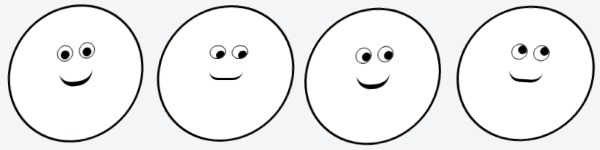 animated smiley face with html and css keyframes