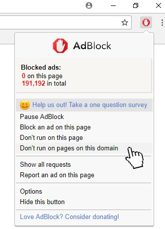 detect adblocker javascript