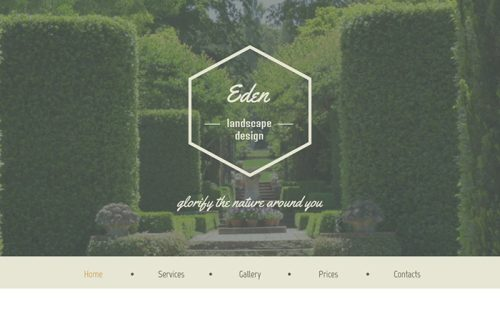 Free HTML5 Theme for Exterior Design Website