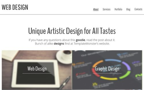 Free HTML5 Theme - Design Studio
