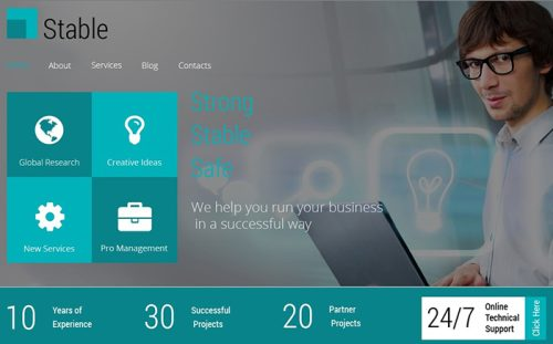 Free HTML5 Theme for Consulting Firm