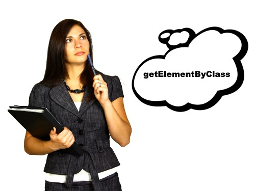 getElementByClass javascript