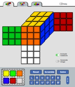 Online Rubiks Cube Solver Html Css Javascript