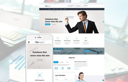 Top 15 HTML Templates To Make Your Finance Consulting Business