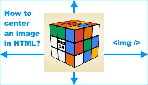center aligned image html