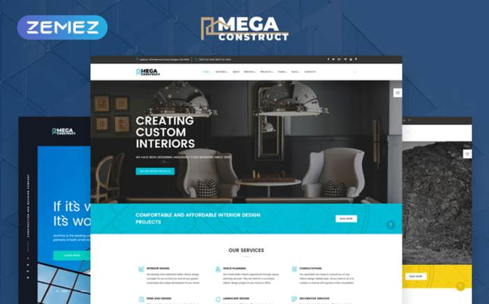 Construction Company Multipage Template