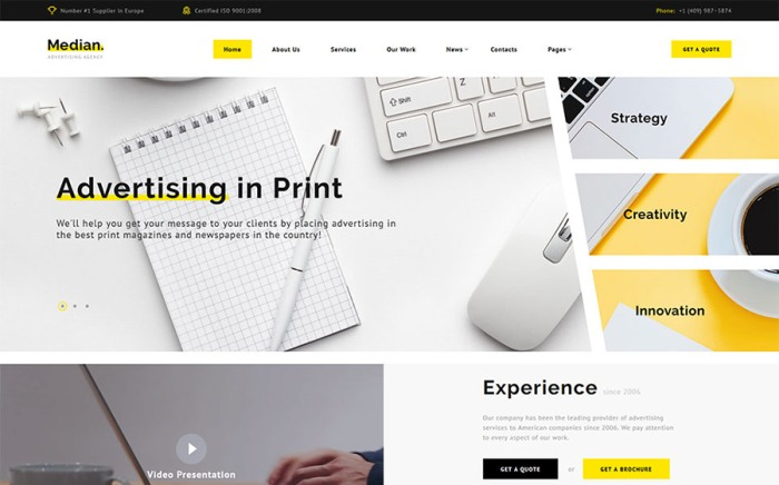 10 best creative agency html5 templates bring your business to top
