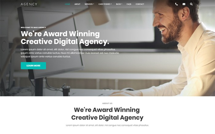 Agency  -  Html Template for Agency Website Template