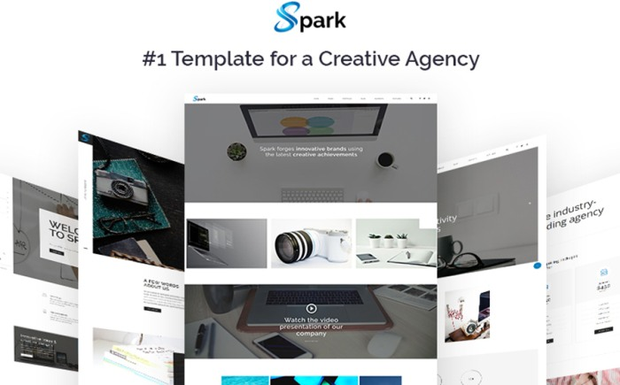 Creative Multipage HTML Template