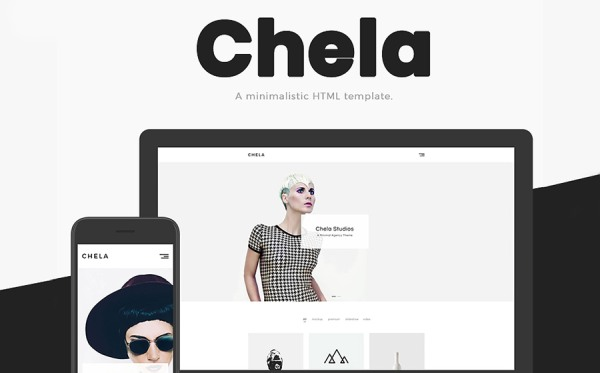 Chela - A Minimal Agency HTML Website Template