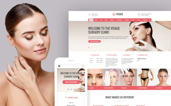 Plastic Surgery Clinic Web Template