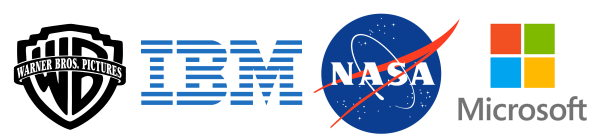 warnerbrothers ibm nasa microsoft