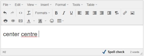 spell check html  editor