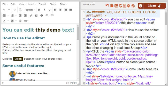 online text editor