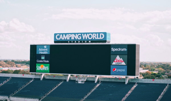 stadium scoreboard ads